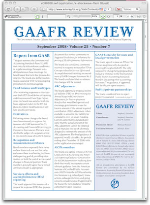 GAAFR Review Newsletter