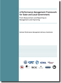 Performance Management Framework for State and Local Govt.
